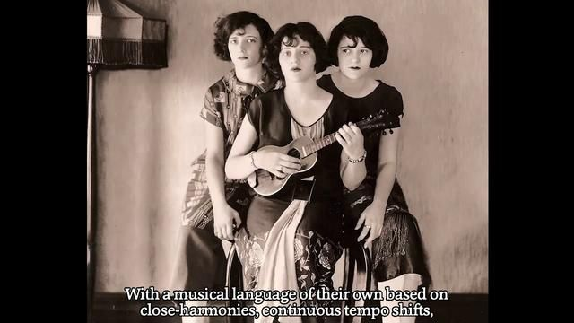 Constructing YOU-DLE-EE-OO-DE-OO (documentary music clip) by O Sister!. O Sister! arranges and plays for the first time a Boswell Sisters' song that they never got to record.