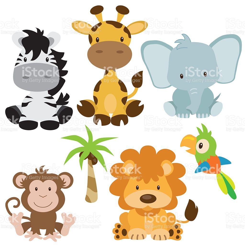 Jungle animal vector ilustración illustracion libre de ...