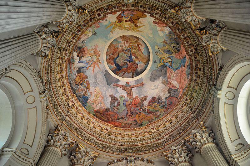 Dome Interior   Cathédrale Notre Dame Et Saint Vaast In Arras (