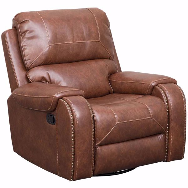 Relax in the Clifton Swivel Glider Recliner by CAMBRIDGE