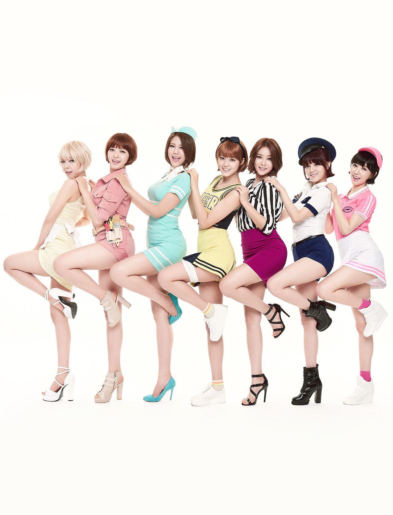 AOA Short Hair | me gusta: | Pinterest | Kpop, Kpop girls
