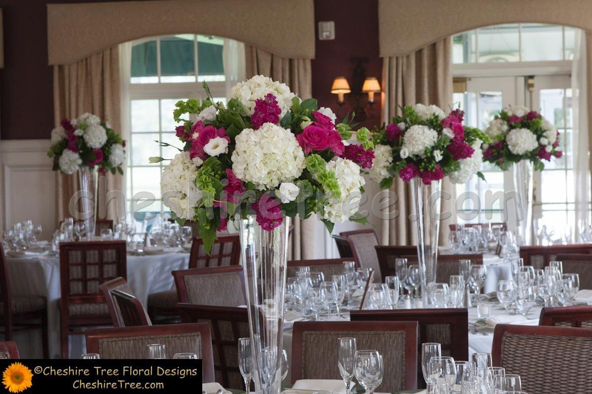 White vase coral flowers wedding reception salem golf club wedding white vase coral flowers wedding reception salem golf club wedding flowers tricia and sean mightylinksfo