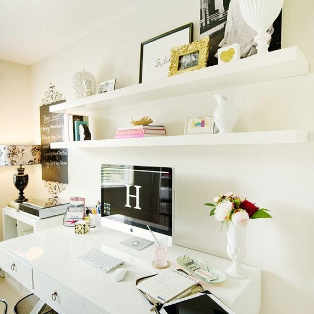 Pretty work area