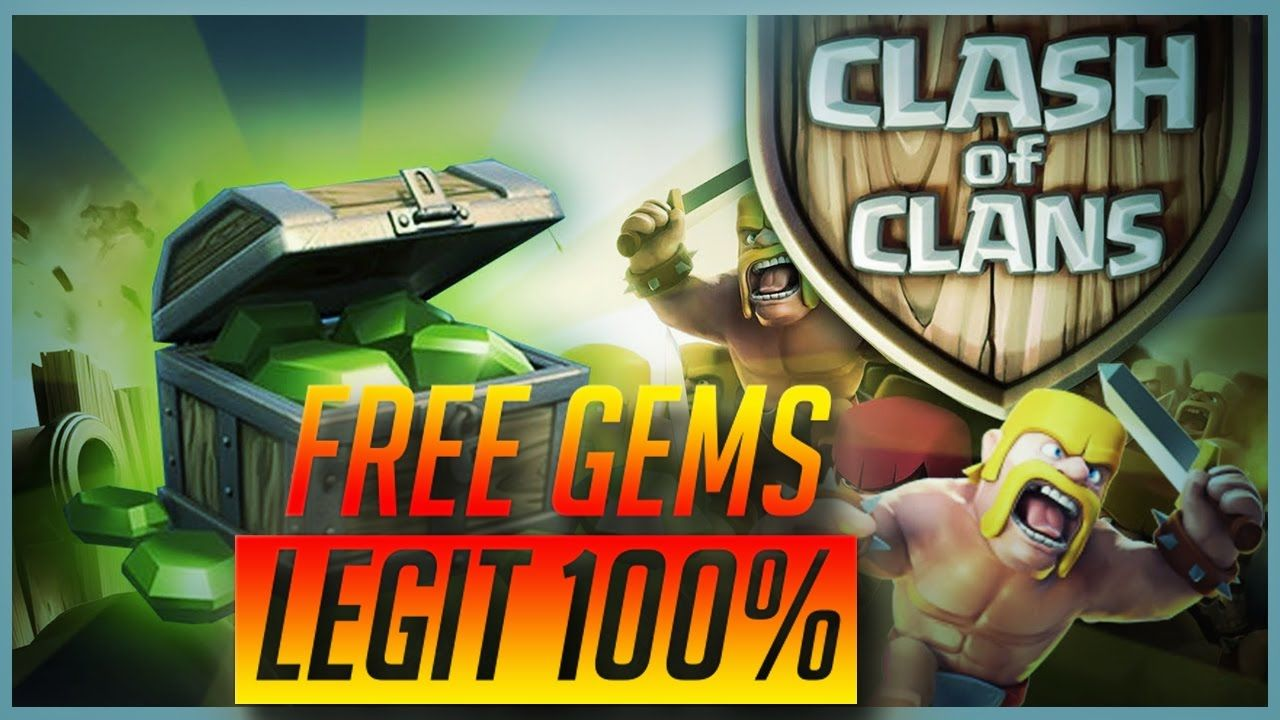 How To Get Free Gems In Clash Of Clans Ipad