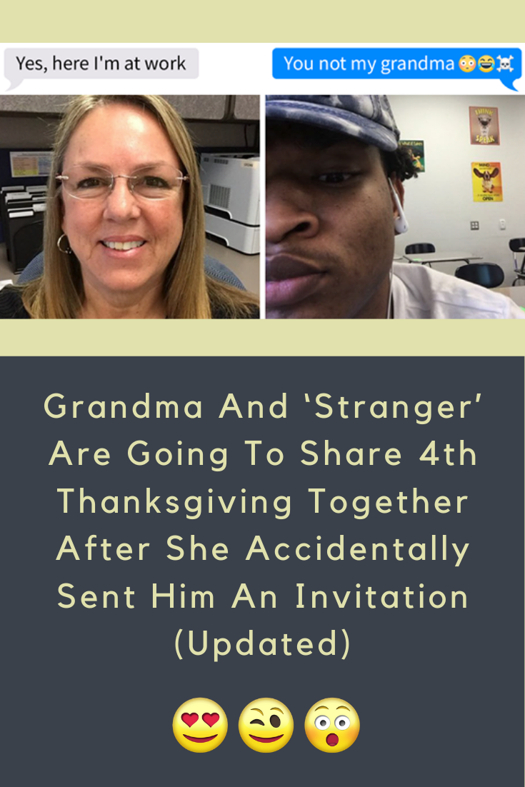 Grandma And 'Stranger' Are Going To Share 4th Thanksgiving