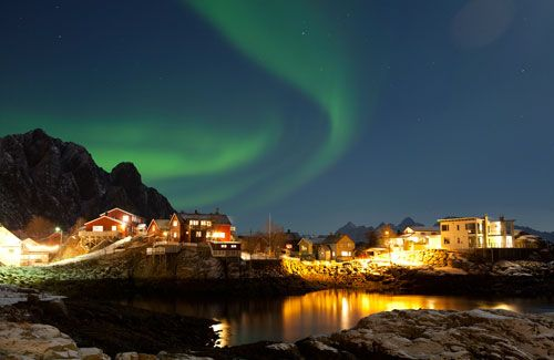 northern lights. bucket list.