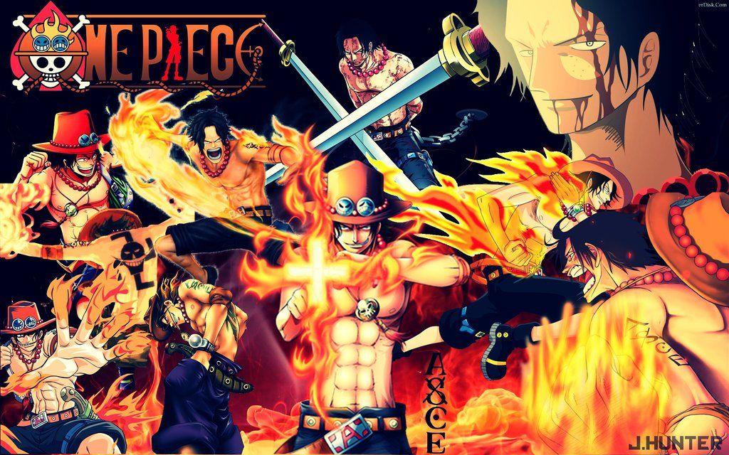 Wallpaper One Piece Ace By JHunter JulioHunter On DeviantArt