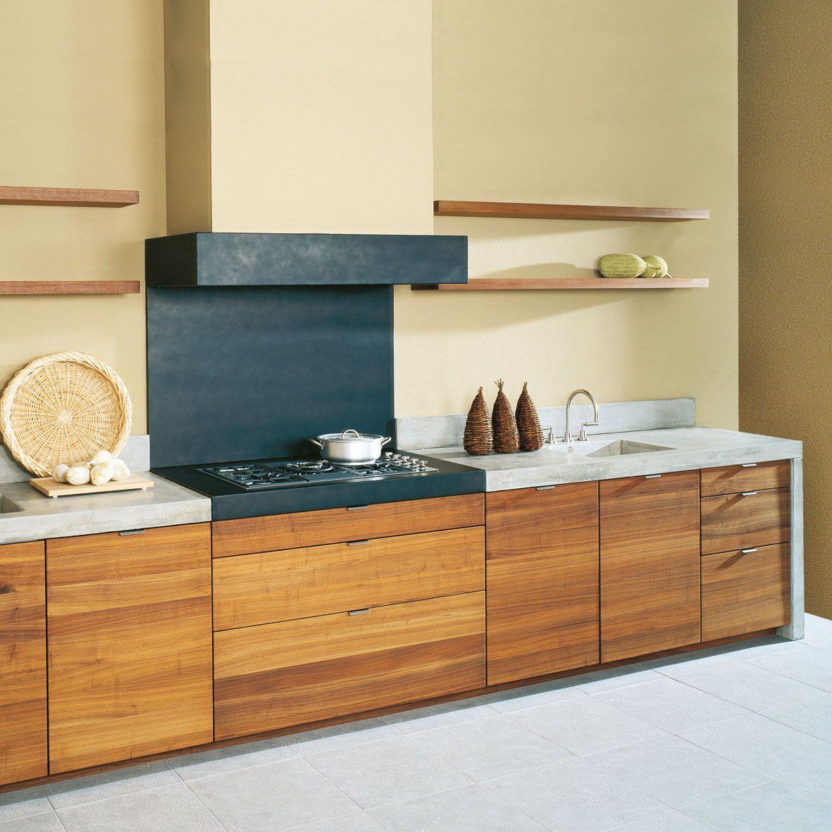 Holz steht für Wertarbeit und Langlebigkeit. Immer mehr Küchenkäufer ...