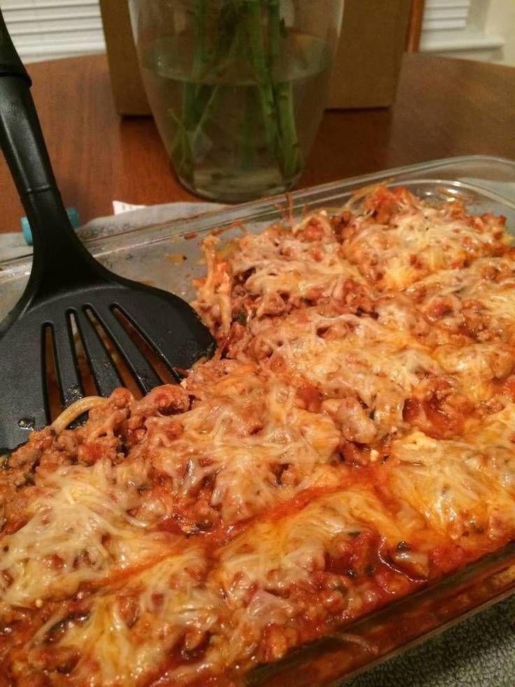 """Spaghetti Pie! """"""""  @allthecooks #recipe"""