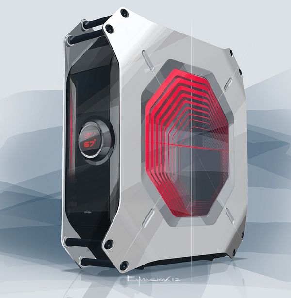Form factor gaming pc