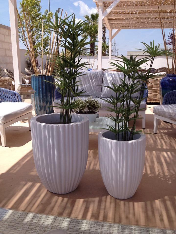 Arredo esterno - vasi | Vasi da giardino, Arredamento ...