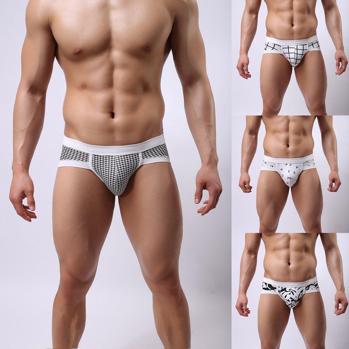 ffbf8672b090 $2.59 - Man Underwear Men's Breathable Cotton Boxer Briefs Shorts Bulge Pouch  Underpants #ebay #Fashion