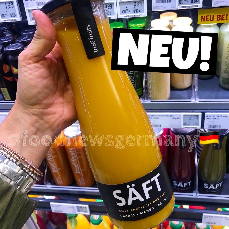 TRUE FRUITS. Neu im Supermarkt, neu im Laden, foodnews