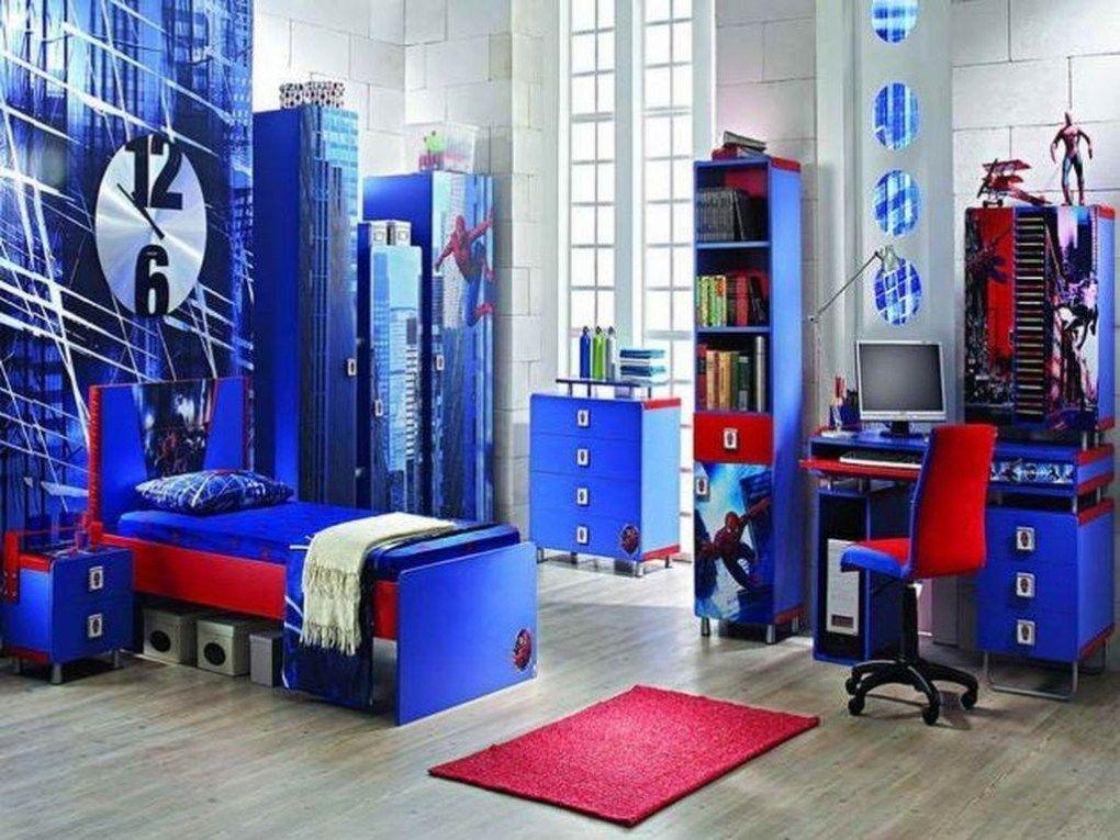 46 inspiring superhero theme ideas for boy's bedroom