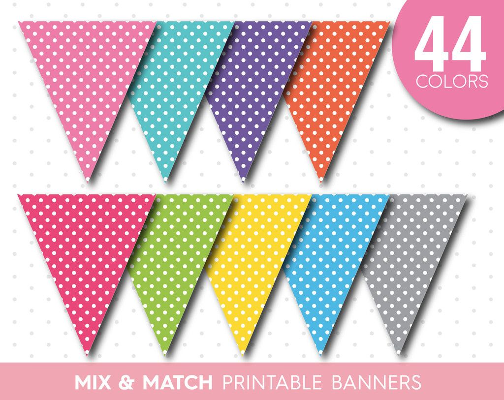 Rainbow Printable Bunting Diy Banner With Full Alphabet Birthday Bunting Baby Shower Bunting