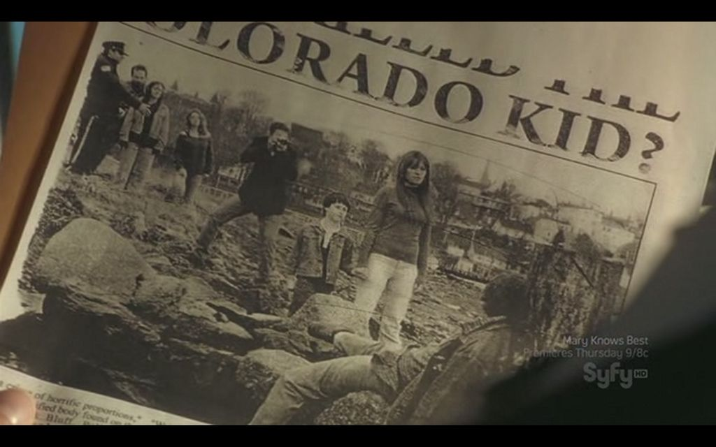 The newspaper that has Lucy Ripley, Audrey Parker's mother?