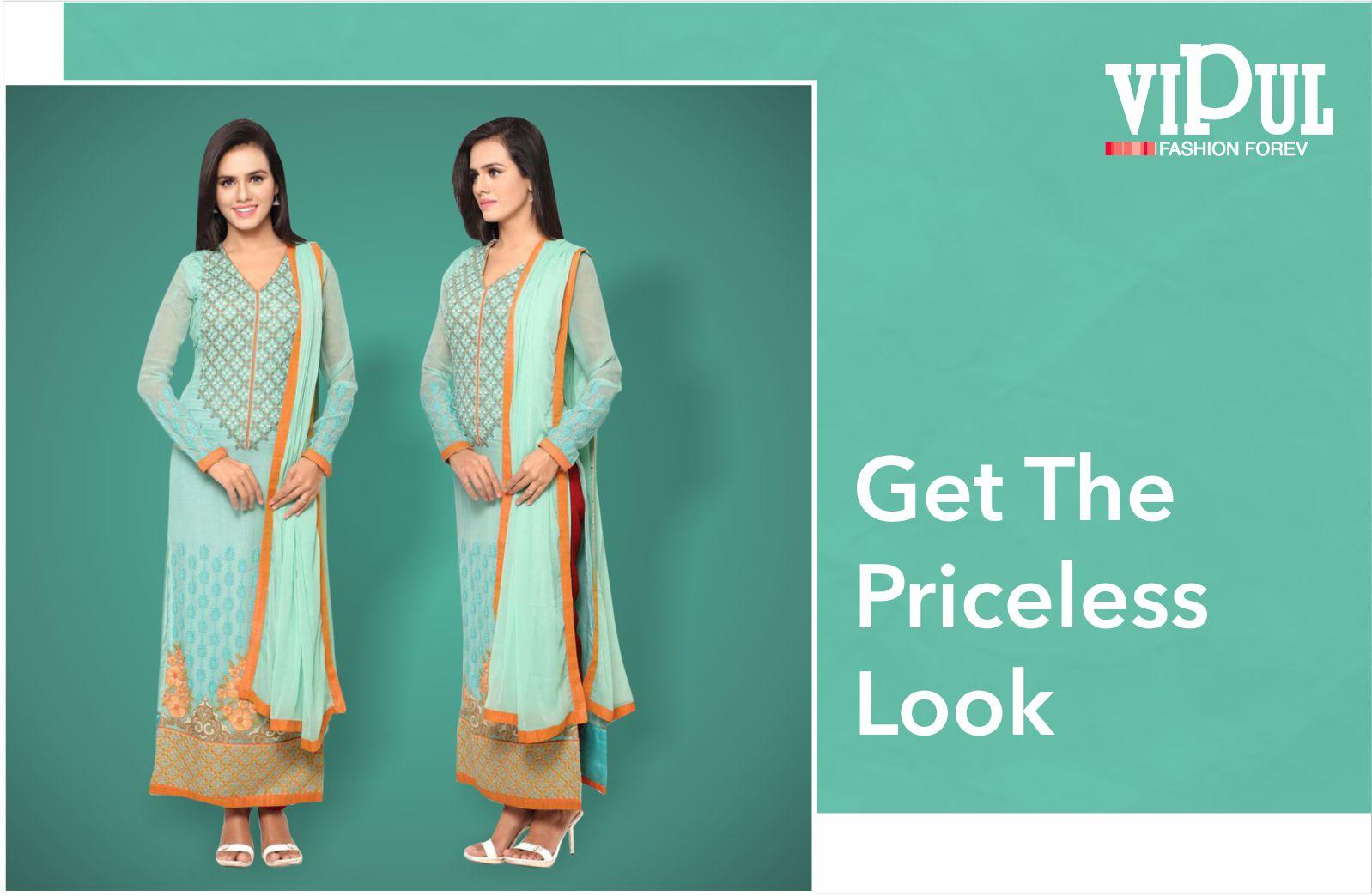 Get the priceless look #VipulFashion #FashionForever #Fashion