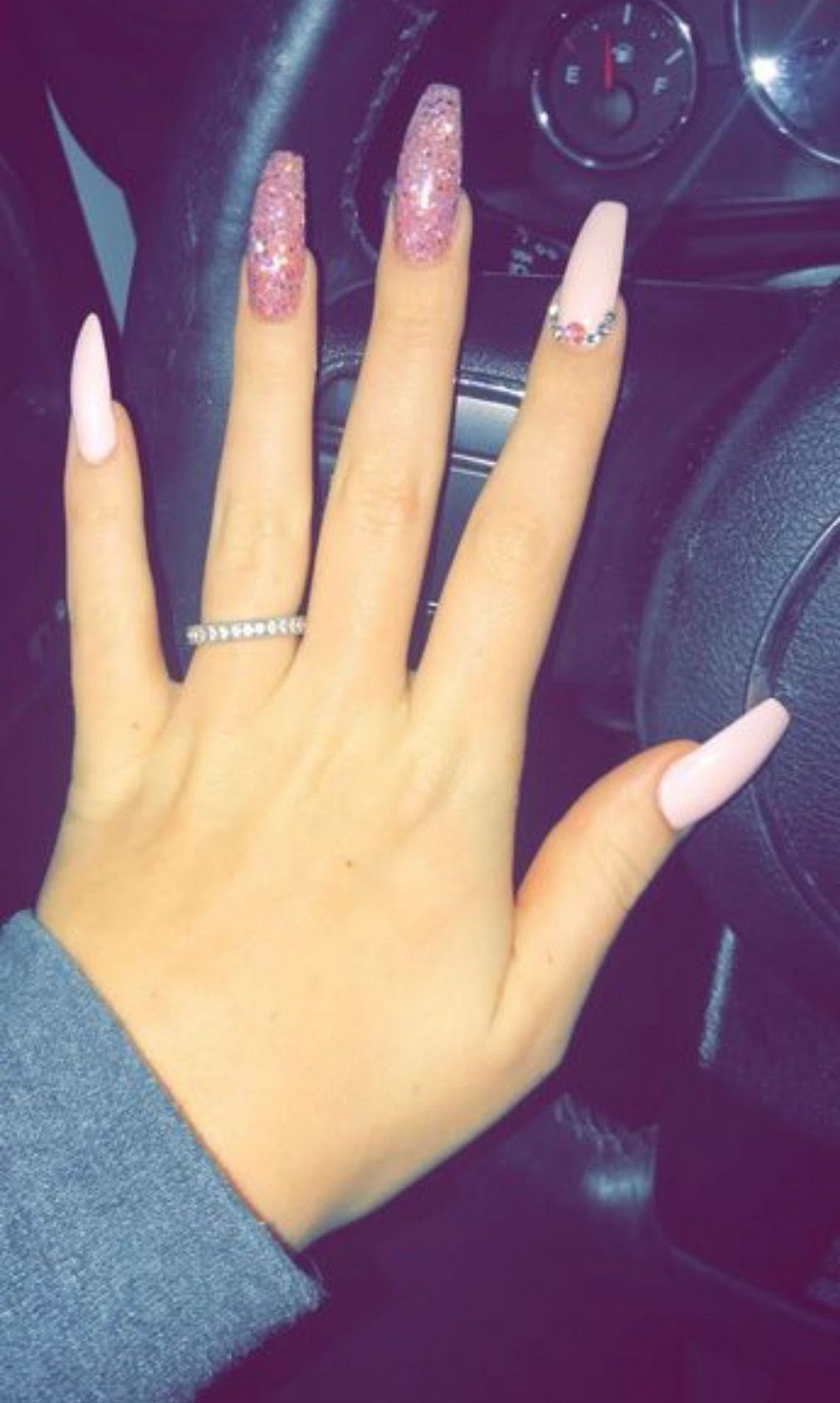 23 That Will Make You Bright Summer Nails Designs Glitter Fun Coffin Nails Kylie Jenner Cute Acrylic Nails Rhinestone Nails