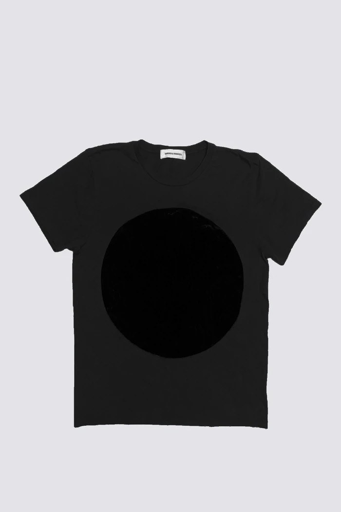 Velvet Circle T Shirt Black Black Shirt Black Tee T Shirt