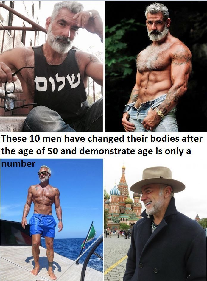 Changes in men after 50