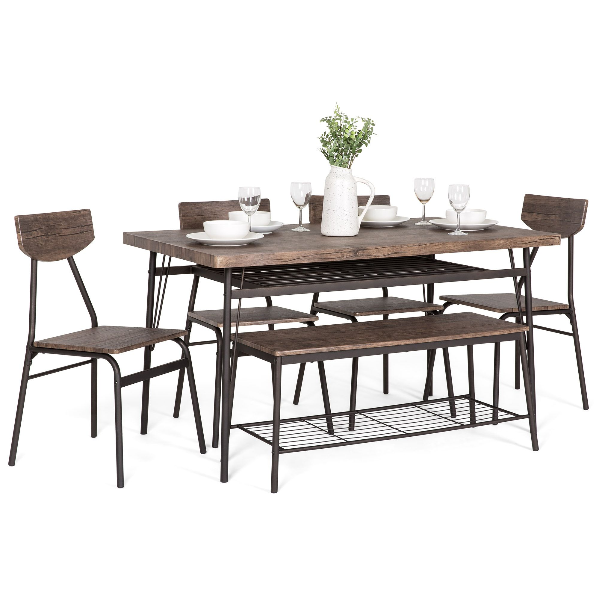 Home In 2020 Dining Set Wooden Dining Set Brown Kitchens