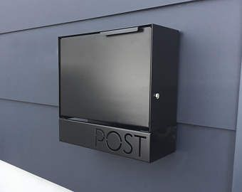 Pin Su Cassetta Postale Moderna