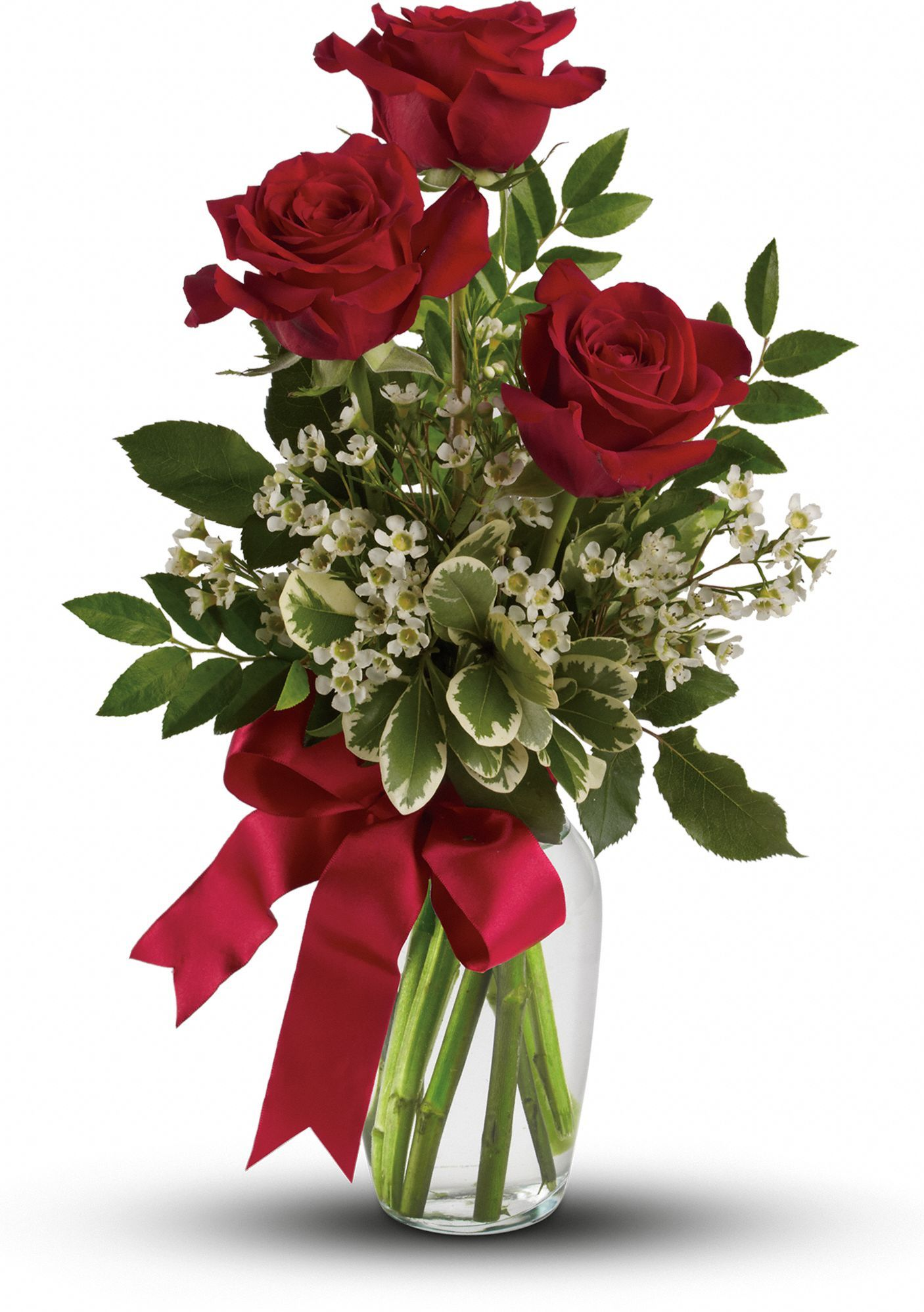 Thoughts Of You Bouquet With Red Roses Norma Estrada Bouquet