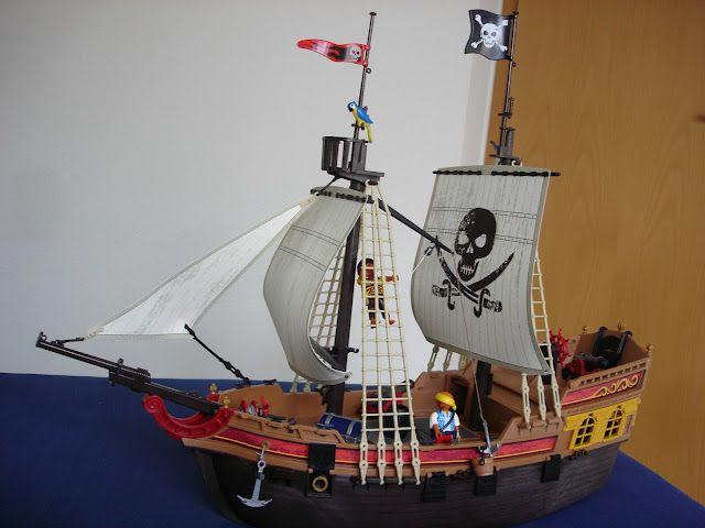 piratenschiff von playmobil spielzeug f r kinder playmobil piratenschiff piraten und playmobil. Black Bedroom Furniture Sets. Home Design Ideas