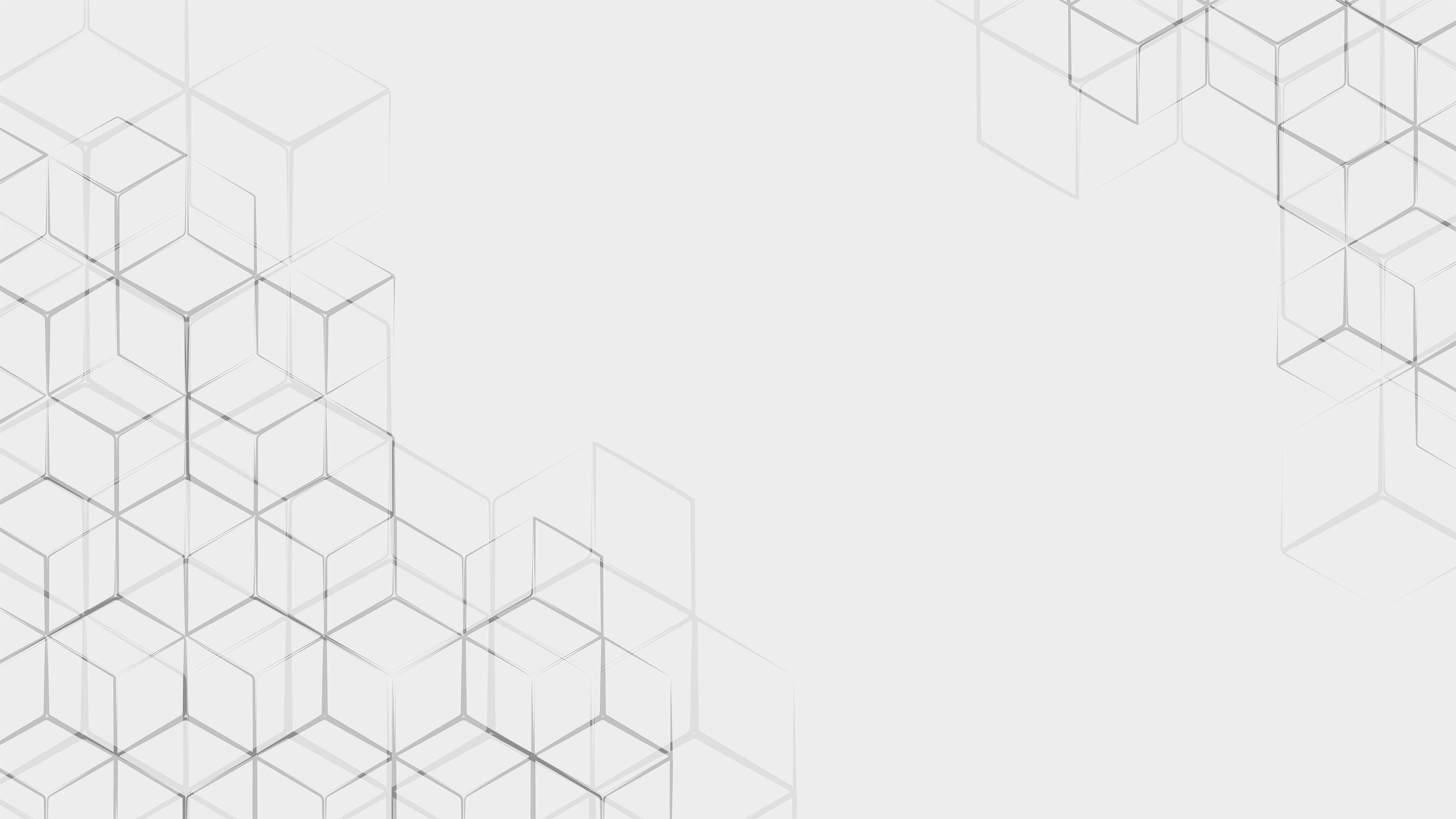 White Cube Pattern 4k White Cube ...