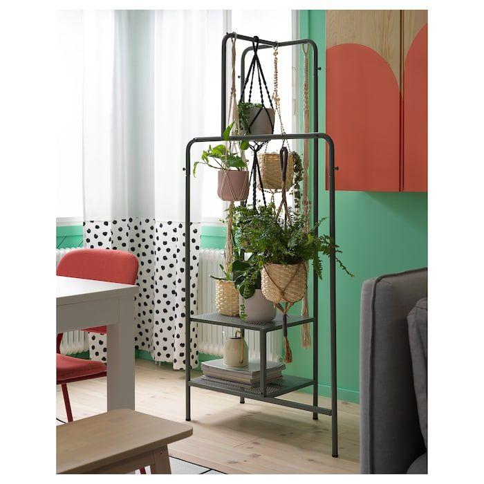 NIKKEBY Clothes rack - gray-green - IKEA #clothingracks