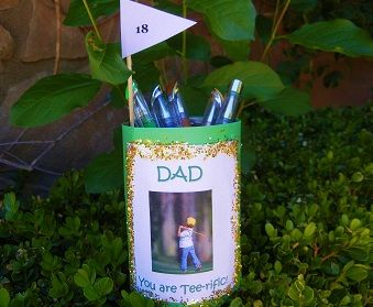 Tee-rific Father s Day Pen Holder | Summer Craft & Recipe ...