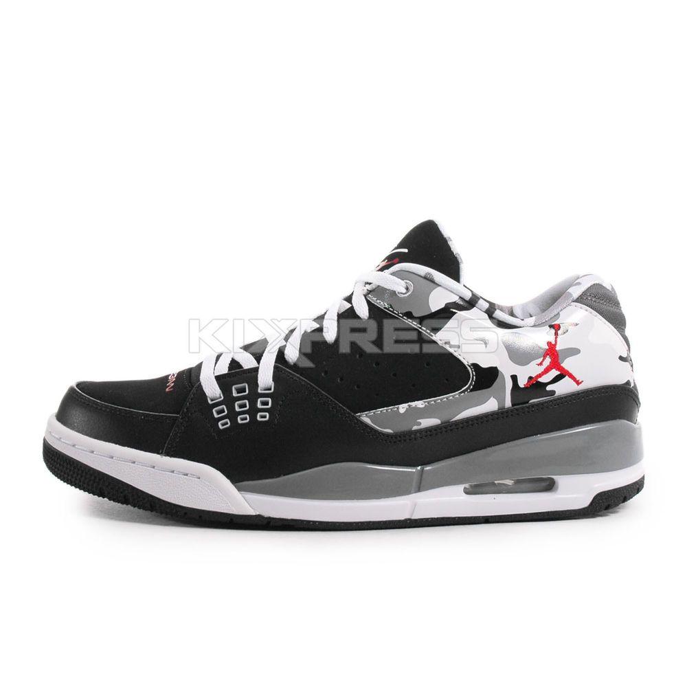 Nike Jordan SC-1 Low  599929-020  Basketball Camo Black/Gym Red-Grey