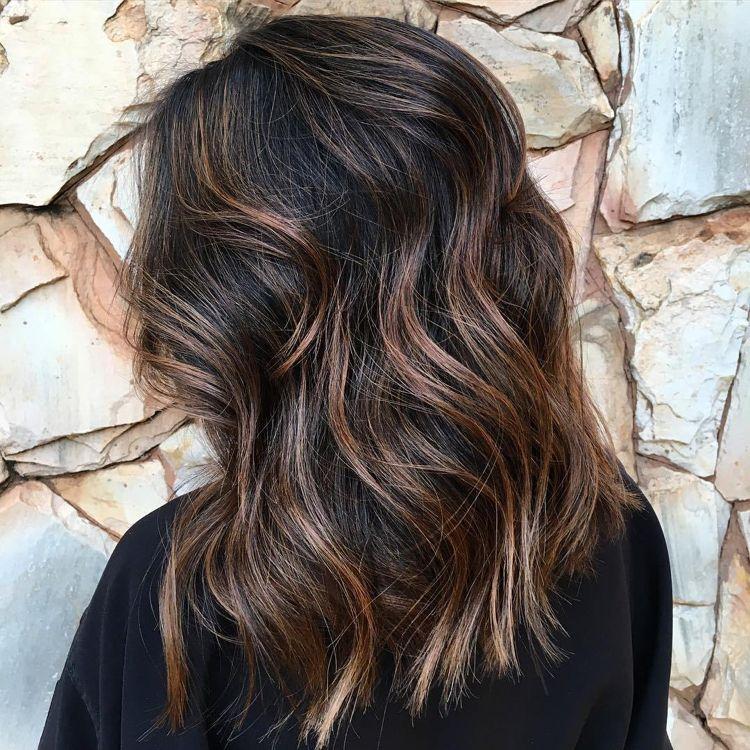 Balayage Braun Blond Kurze Haare