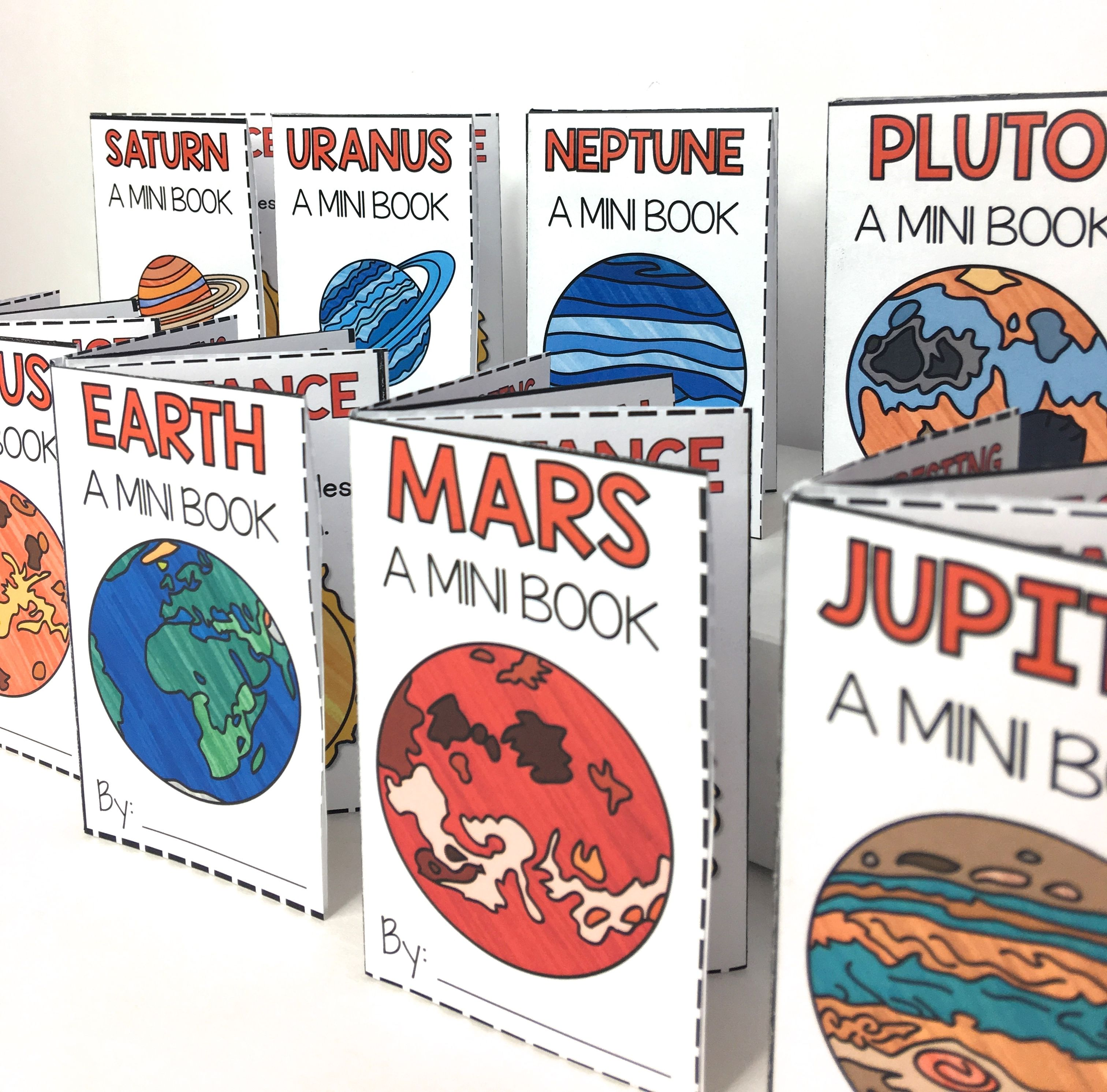 free planets mini book free planet solar system and planets