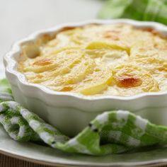 Flan de pomme de terre à la crème | Recette (avec images