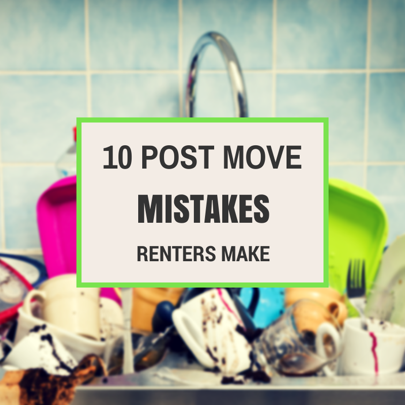 Wonderful 10 Post Move Mistakes Renters Make According To Apartment Guide
