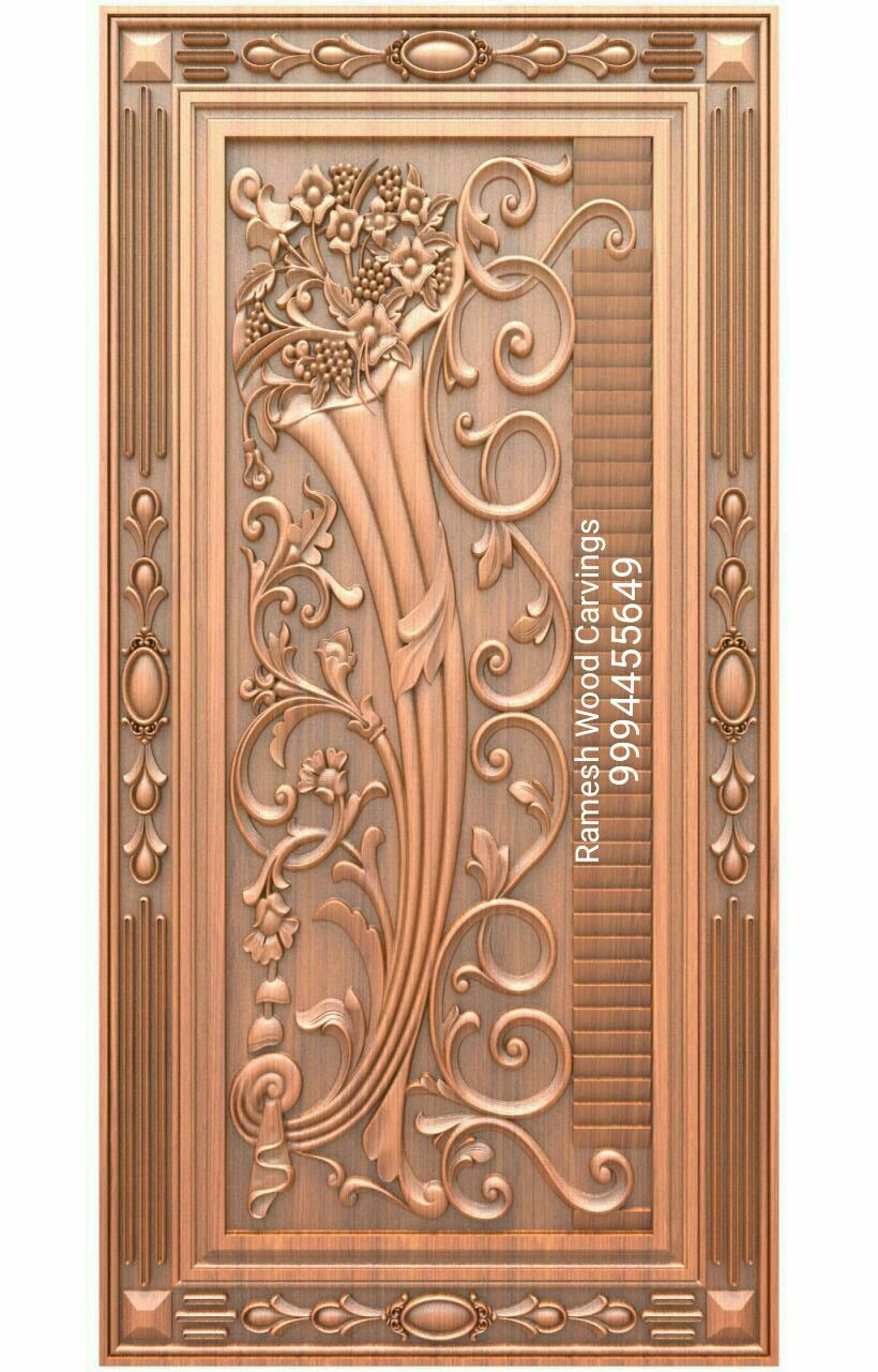 Pin By Ali Ahmed On Free Download Wooden Main Door Design