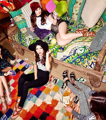 Kendall and Kylie looking amazing at their Madden Girl photo shoot! #KendallKylieMaddenGirl #SteveMadden
