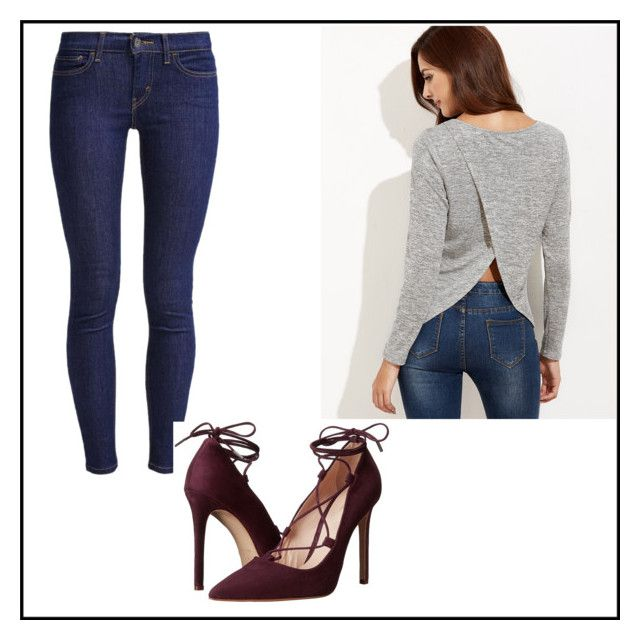 """""""Untitled#6"""" by dzemila-c ❤ liked on Polyvore featuring Levi's and Massimo Matteo"""