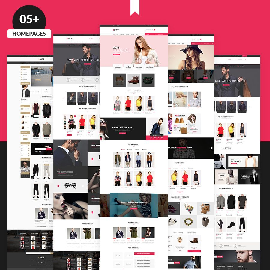 The Shop   Multipurpose e-commerce HTML Template by webstrot
