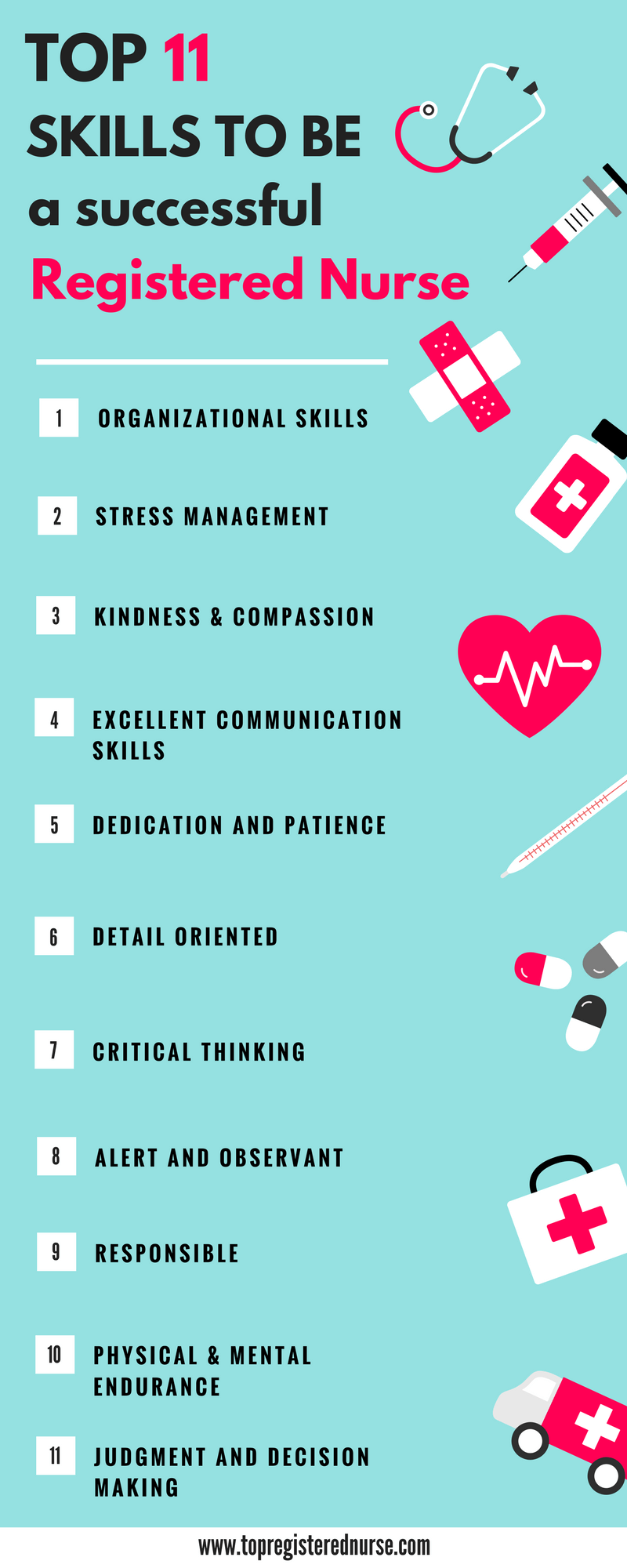 Top 11 Skills For Becoming A Successful Registered Nurse