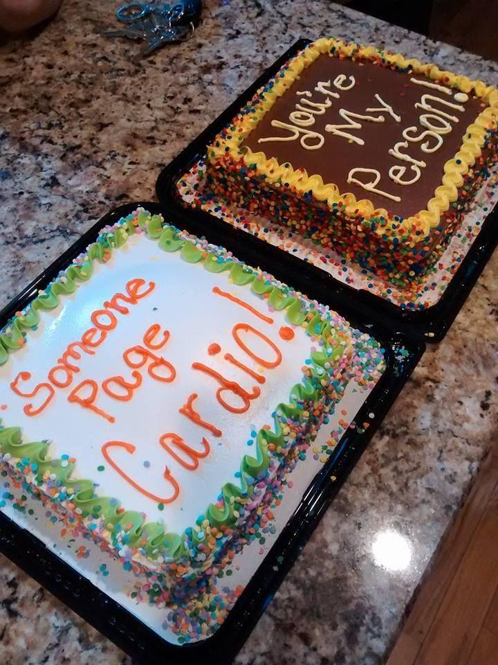 My Grey's anatomy birthday cakes! --- Grey's anatomy ...