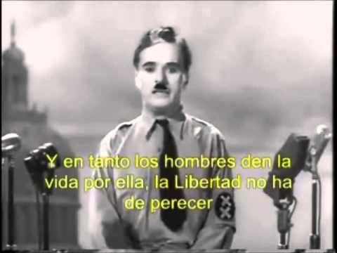 El Gran Dictador - Discurso Final (Español) + Hans Zimmer - Time. Probablemente el discurso mas inspirador de la historia!