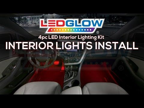 This video will help walk you through the process of installing your ledglow 7 color interior led lighting kit to the interior of your car