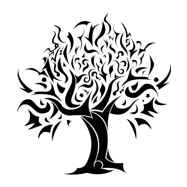 Abstract Tree Tattoo Tribal Tree Drawing Pic 1 Cemelci Deviantart Com 53 Kb 600 X 600 Px Tribal Tree Tree Tattoo