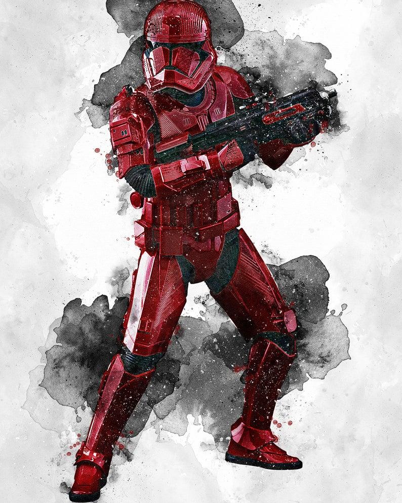 Sith Trooper Sith Trooper Poster Sith Trooper Digital Etsy Star Wars Pictures Star Wars Images Star Wars Wallpaper