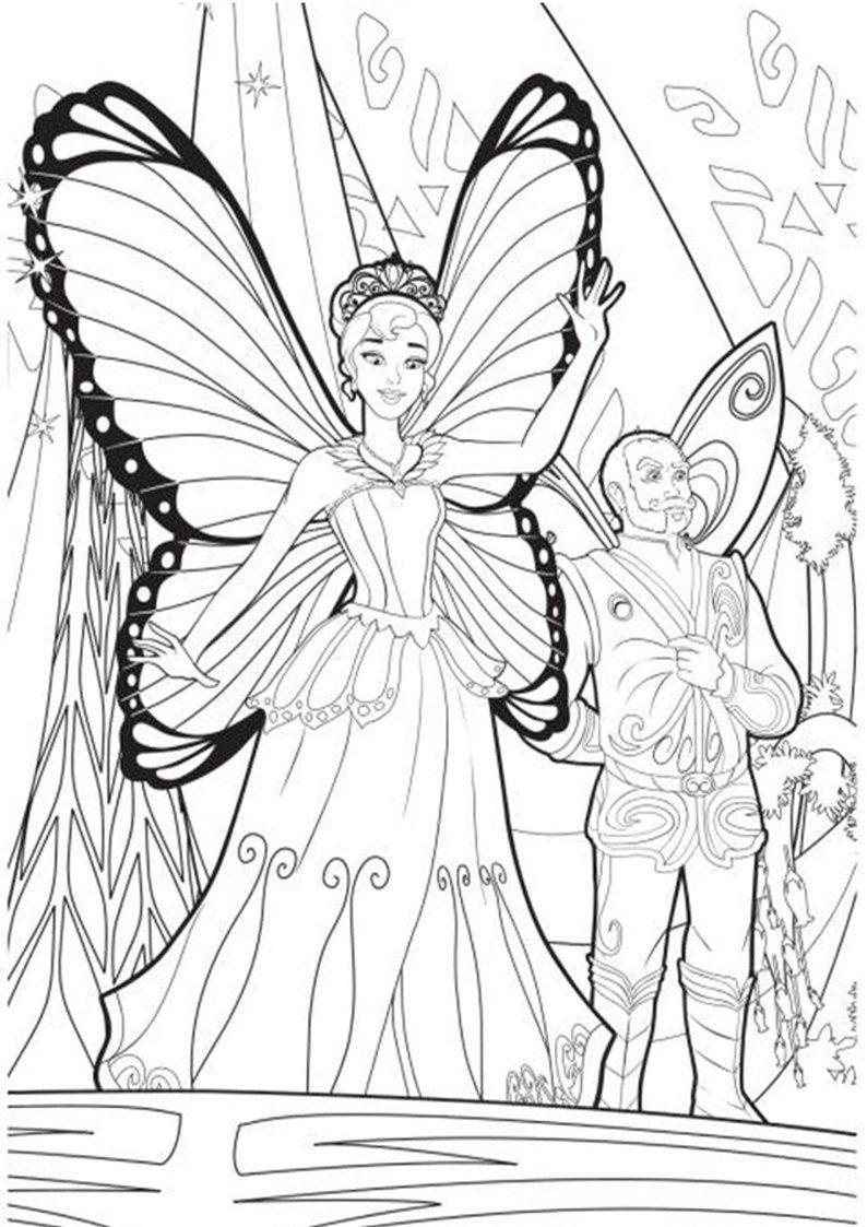 Kolorowanki Barbie Mariposa I Basniowa Ksiezniczka Malowanka Wrozka Dla Dziewczynek 13 Jpg 794 1123 Coloring Pages Barbie Barbie Coloring