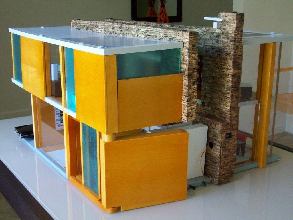 Brinca Dada Emerson Wood Doll House Furniture Lights Up Mid