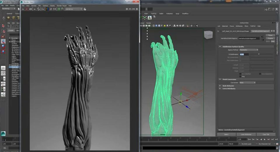 Displacement Mapping in Maya with ZBrush Displacement MapsComputer Graphics & Digital Art Community for Artist: Job, Tutorial, Art, Concept Art, Portfolio