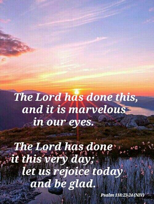 psalm 118 23